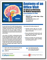 Anatomy of an Office Visit flyer